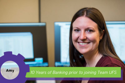 Amy 10 years banking experience